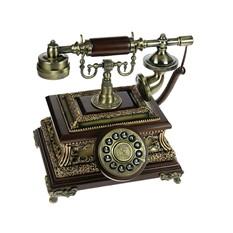Бронзовый телефон Ретро