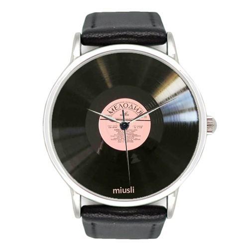 Наручные часы Miusli Пластинка мелодия