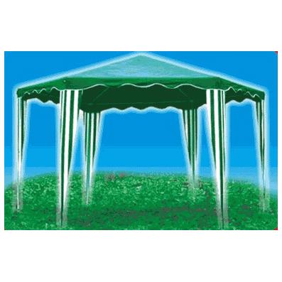 Тент-шатер шестиугольный