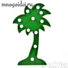 Светодиодный декоративный ночник Пальма