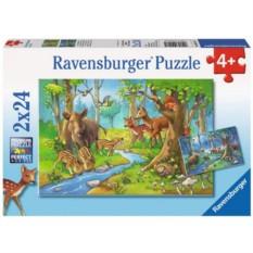 Пазл Лесные жители от Ravensburger