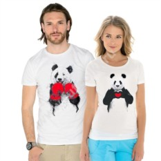 Парные футболки Панды