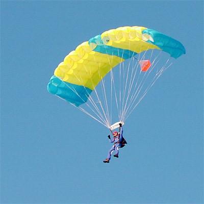 Подарочный сертификат: Прыжок с парашютом