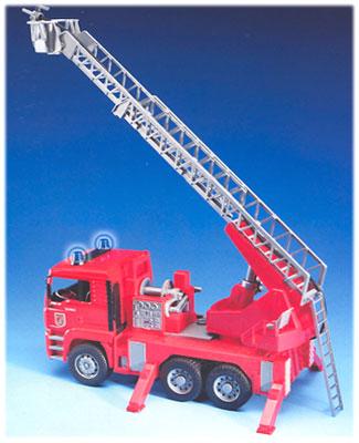 Пожарная машина MAN со звуком и светом