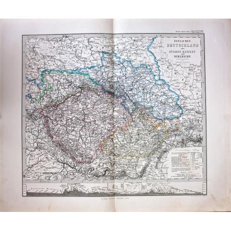 Карта Ostliches Deutschland