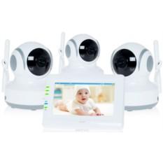 Видеоняня Ramili Baby RV900X3 White