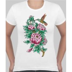 Женская футболка Пионы