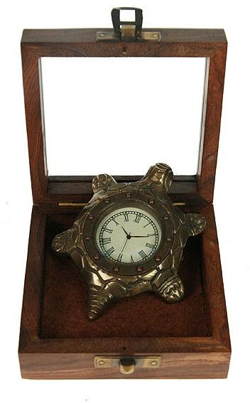 Сувенир часы Черепаха