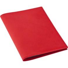 Красная обложка для автодокументов Twill