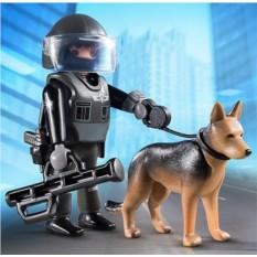 Конструктор Playmobil SpecialPlus Полицейский спецназовец