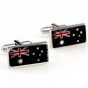 Запонки Флаг Австралии