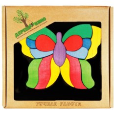 Головоломка на магнитной доске Бабочка лайф