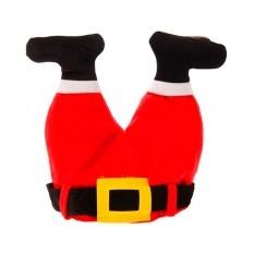 Карнавальная шапка «Ноги Деда Мороза»
