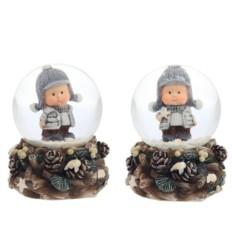 Декоративная фигурка в стеклянном шаре Малыш
