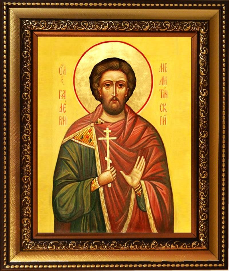 Икона на холсте Валерий Мелитинский - Святой мученик