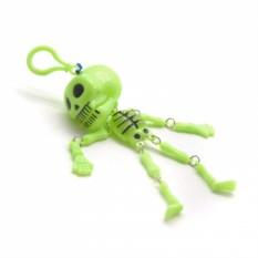 Заводная игрушка-брелок Скелет