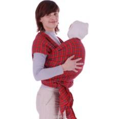 Красный слинг-шарф Уют