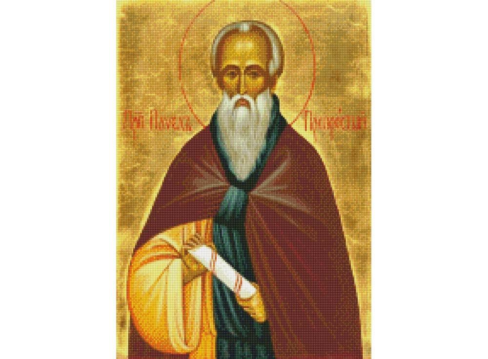 Набор для вышивки стразами «Преподобный Павел Препростый»