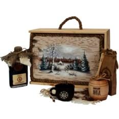 Подарочный набор Сибирь. Мед