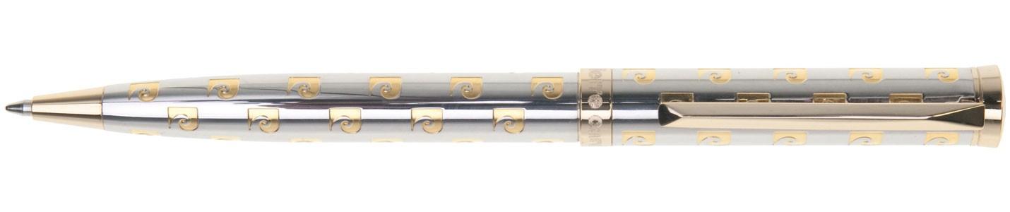 Шариковая ручка хром с гравировкой Pierre Cardin Evolution