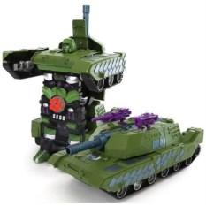 Трансформер tank 1:14 (стреляет присосками)