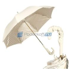 Зонт Трость Pasotti Ivory Pelle