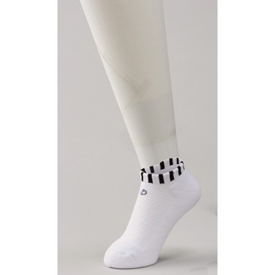 Носки X10 короткие белые с полосками PHITEN
