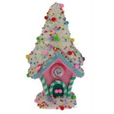 Новогодний сувенир Карамельный домик
