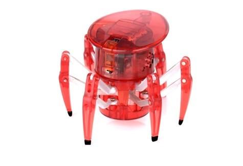 Микроробот Паук, красный