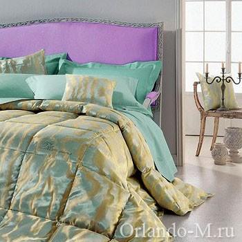 Одеяло 2х спальное из жаккарда со стразами