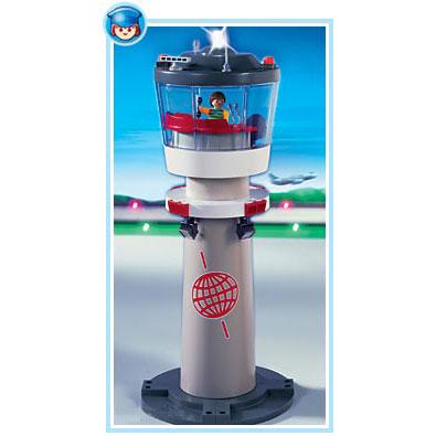 Диспетчерская вышка с маяком