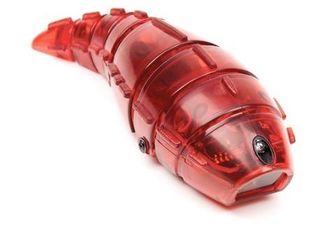 Микроробот Личинка, красный