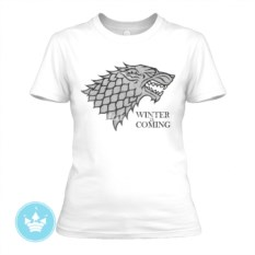 Женская футболка Winter is Coming