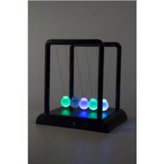 Настольный маятник Колыбель Ньютона (светящиеся шары)