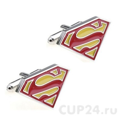 Запонки Супермэн