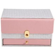 Светло-розовая шкатулка для ювелирных украшений Calvani