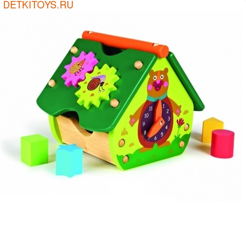 Развивающая игрушка Домик-сортер