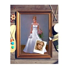 Портрет по фото Невеста