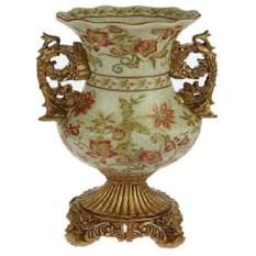 Декоративная ваза из керамики Кубок