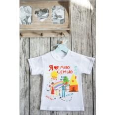 Детская именная футболка с вашим текстом Моя семья