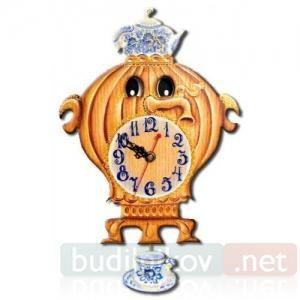 Настенные часы с маятником Бризоль Самовар