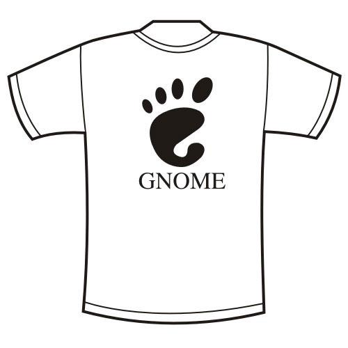 Футболка GNOME