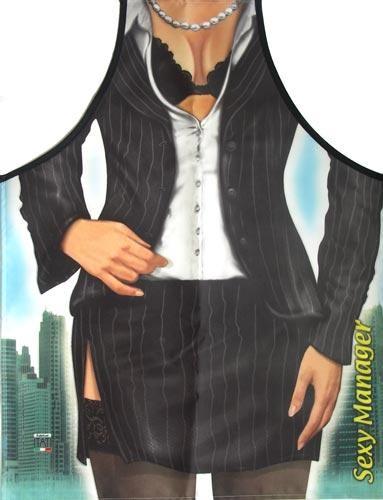 Фартук прикольный Сексуальный менеджер
