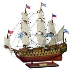 Модель корабля Ингерманланд 1715 г.