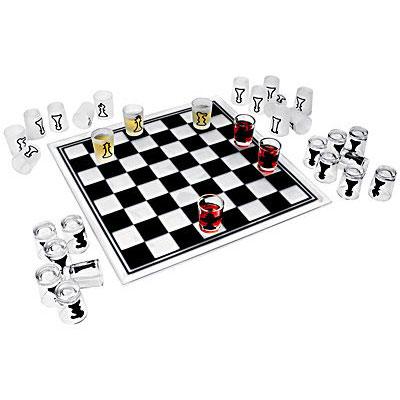 Шашки-шахматы «Рюмки»