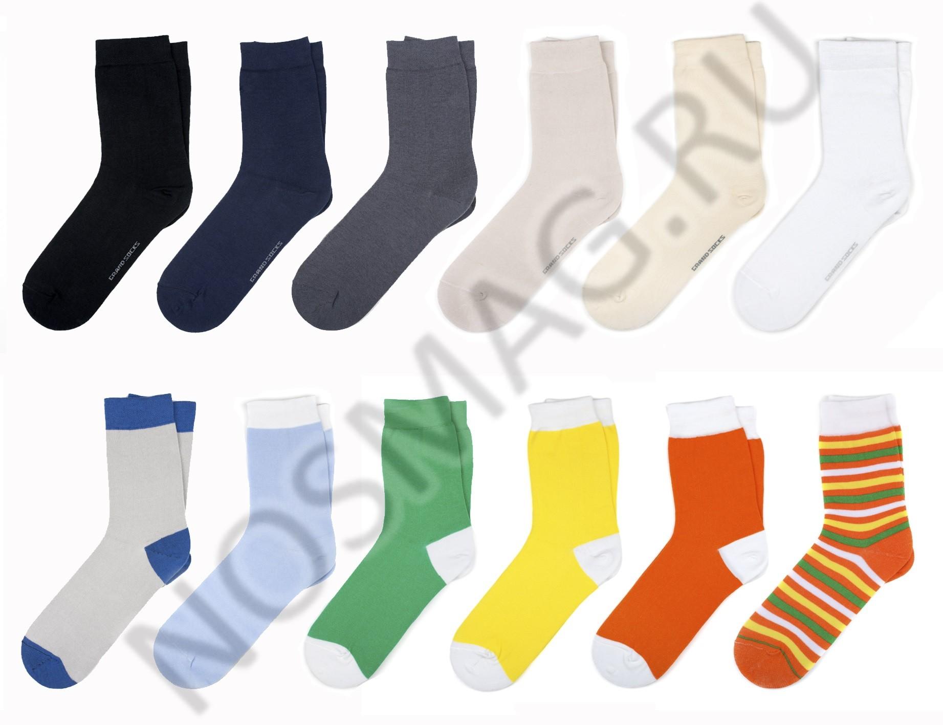 Набор из 20 пар носков в кейсе Бизнес. Микс №33