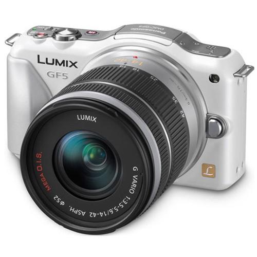 Фотоаппарат Panasonic Lumix DMC-GF5 Kit DMC-GF5KEE-W