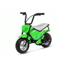 Зелёный детский электромотоцикл MC-243 (Joy Automatic)