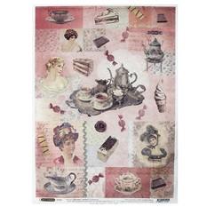 Рисовая бумага для декупажа Craft Premier Десерты