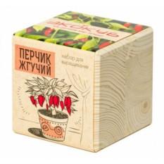 Эко -куб для выращивания Перчик